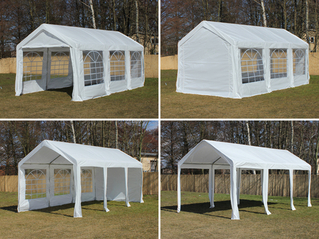 partyzelt festzelt pavillon pe 3x6m 6x3m gartenzelt zelt. Black Bedroom Furniture Sets. Home Design Ideas