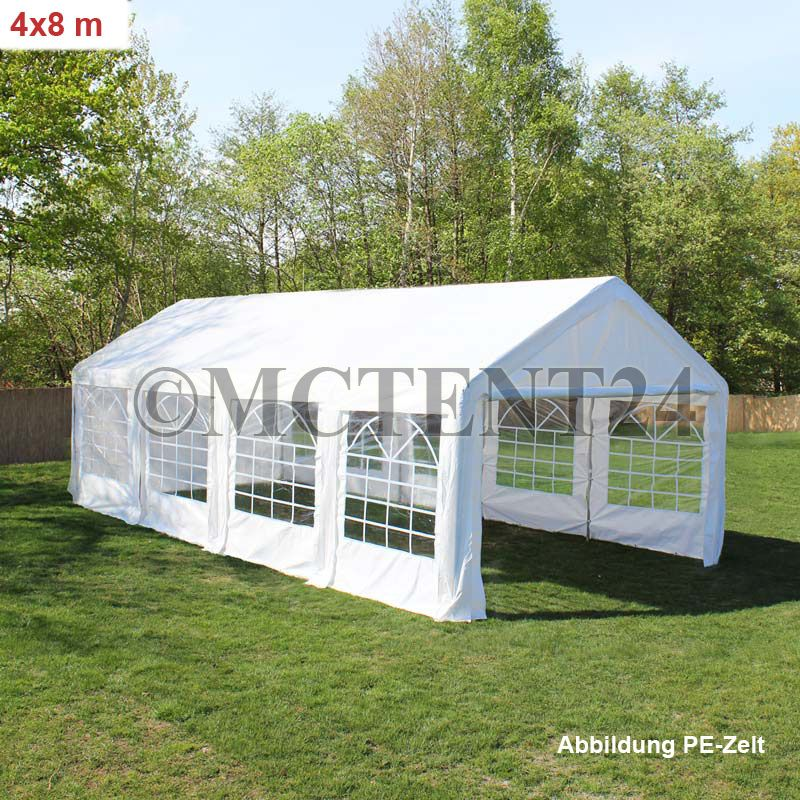 partyzelt pe pvc pavillon 3x2 6x12m festzelt wasserdicht profi qualit t neu ebay. Black Bedroom Furniture Sets. Home Design Ideas