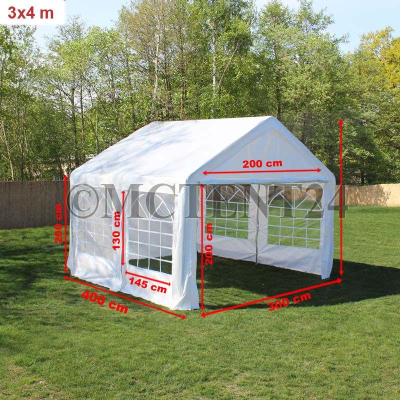 pavillon partyzelt 3x4m 4x3m stabiler marktstand. Black Bedroom Furniture Sets. Home Design Ideas