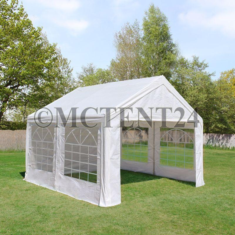 partyzelt festzelt pavillon pe 3x5m 5x3m gartenzelt zelt vereinszelt bierzelt ebay. Black Bedroom Furniture Sets. Home Design Ideas