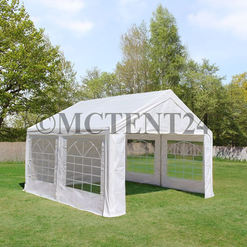 partyzelt festzelt pavillon pe 4x4m 4x4m gartenzelt zelt vereinszelt bierzelt. Black Bedroom Furniture Sets. Home Design Ideas