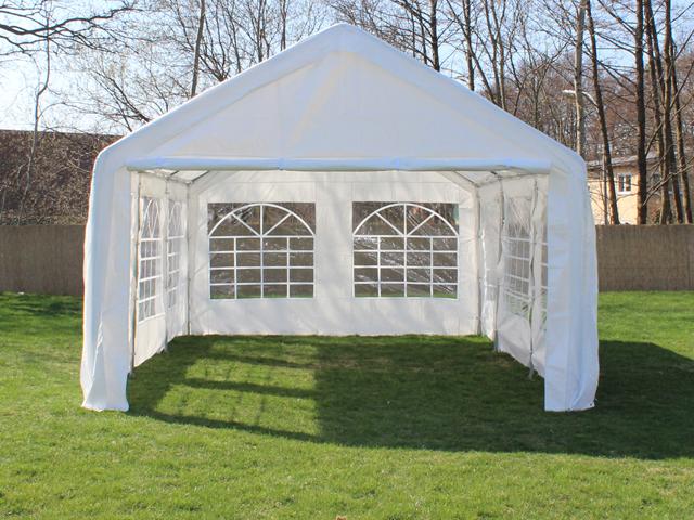 partyzelt festzelt pavillon pe 4x6m 6x4m gartenzelt zelt vereinszelt bierzelt ebay. Black Bedroom Furniture Sets. Home Design Ideas