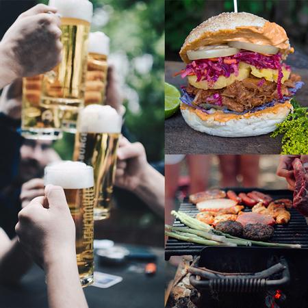 Foods & Drinks für die Gäste