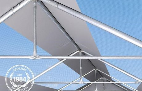 Skylights Zelthalle