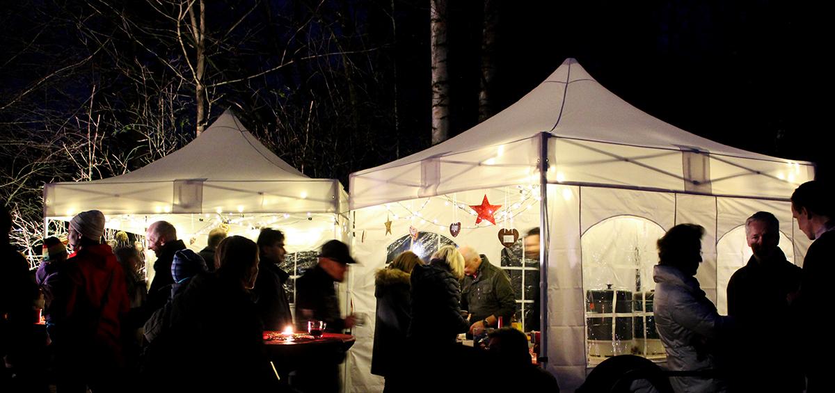 Einsatz Zelte im Winter