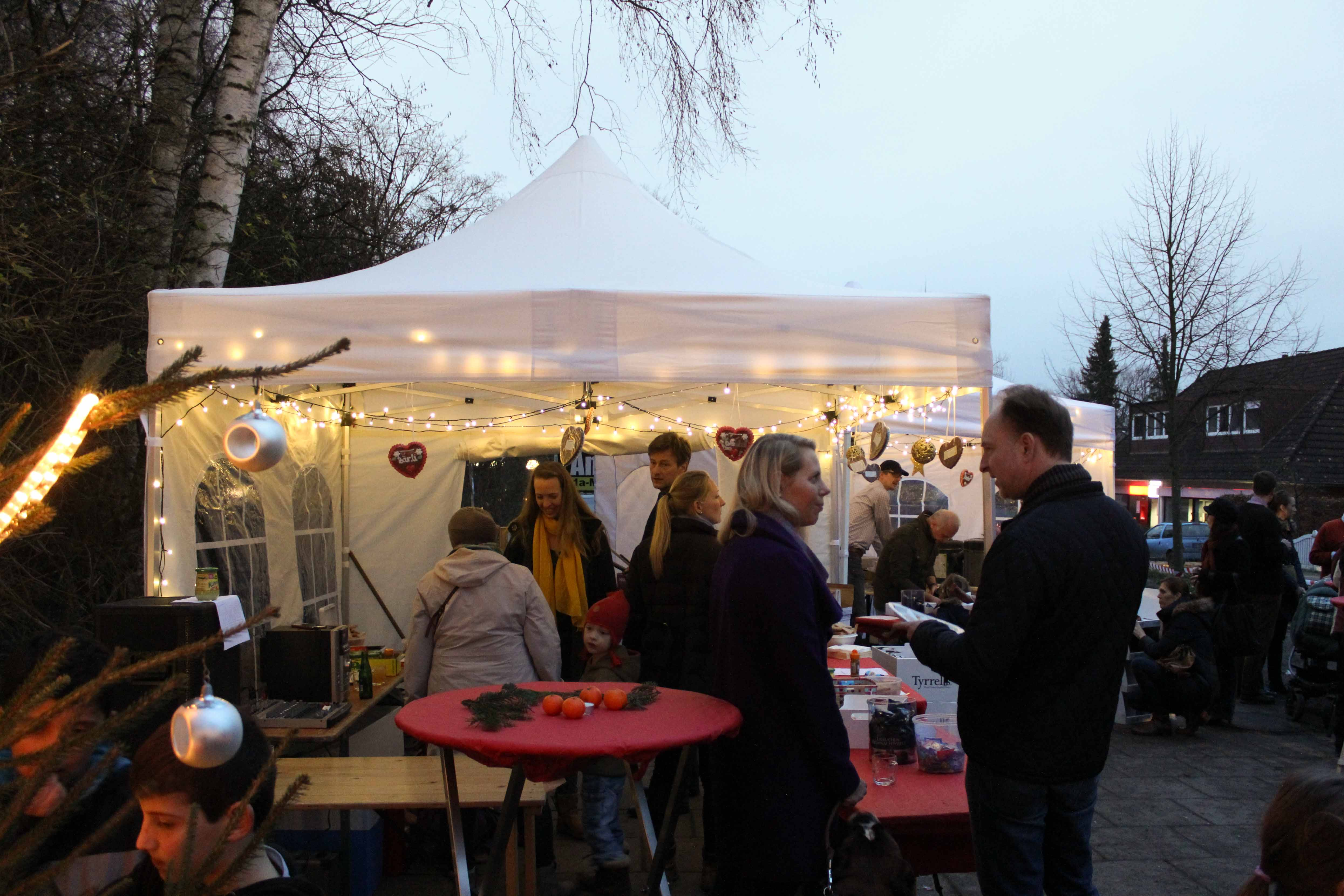 Faltpavillon Weihnachtsmarkt