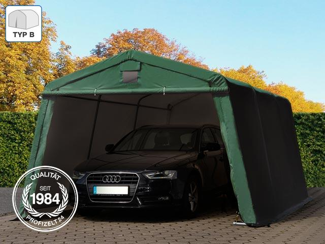 zeltgarage weidezelt foliengarage zelt lagerzelt unterstand 17 28 m 3 6x4 8m. Black Bedroom Furniture Sets. Home Design Ideas