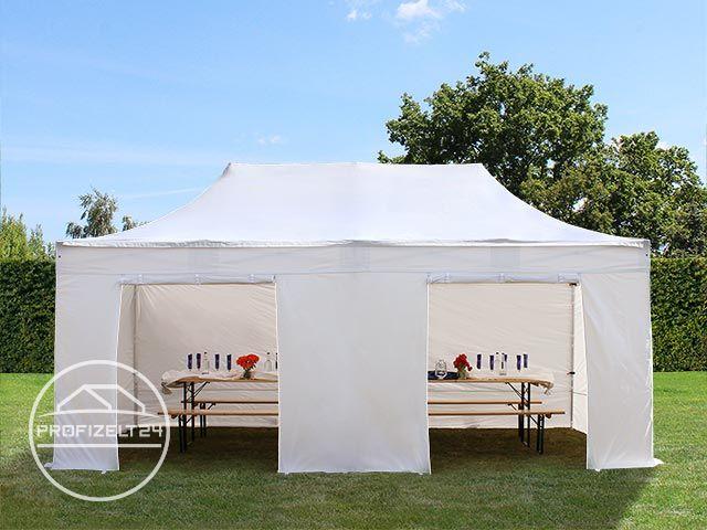 Pavillon Robust Set : M faltpavillon pavillon zelt premium g aluminium