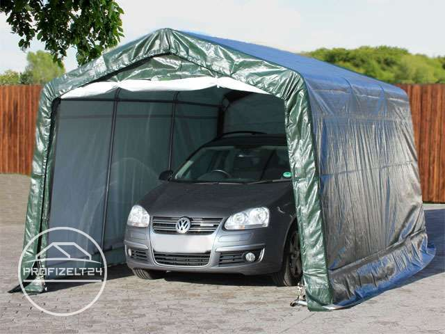 carport garagenzelt mobiles lagerzelt gartenschuppen schutz unterstand weidezelt ebay. Black Bedroom Furniture Sets. Home Design Ideas