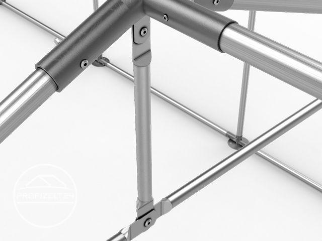 Lagerzelt 3x4 - 8x12m Unterstand Weidezelt Lagerhalle PVC ...