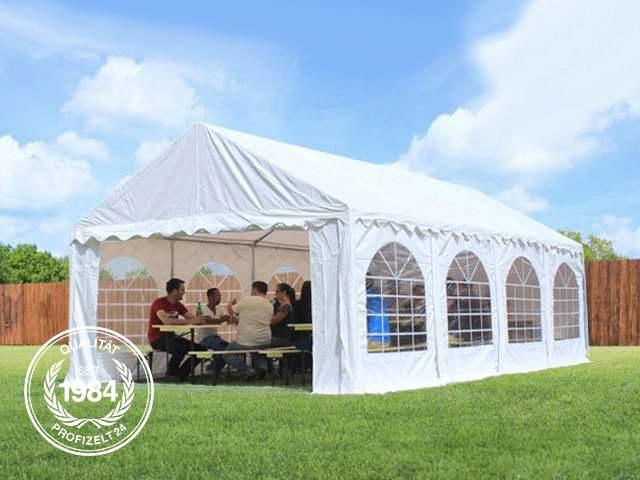 Pavillon Robust Set : Partyzelt m festzelt gartenzelt pavillon bierzelt wasserdicht