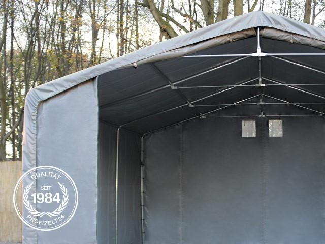 Dachkonstruktion der Zelthalle