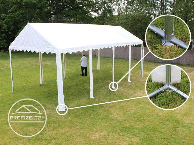 Zelt-Konstruktion mit Bodenrahmen