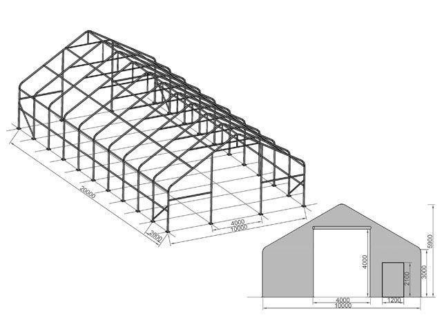 Ein Beispiel für einen Konstruktionsplan
