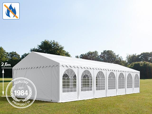 Perfekt geeignet, um darin z. B. Bühnen aufzubauen: Das Professional Bierzelt mit einer Seitenhöhe von 2,6 m.