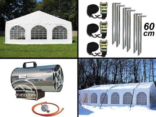 Optimieren Sie Ihr Veranstaltungszelt mit Zelt-Zubehör.