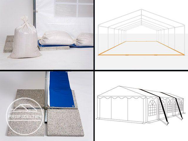Zubehör, um die Stabilität von Zelten zu verbessern