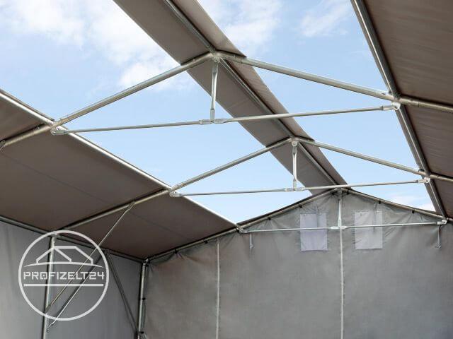 Zelthalle als Garage