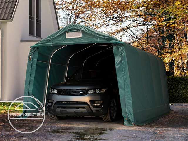 Perfekter Schutz vor Wind und Wetter: Garagenzelte.