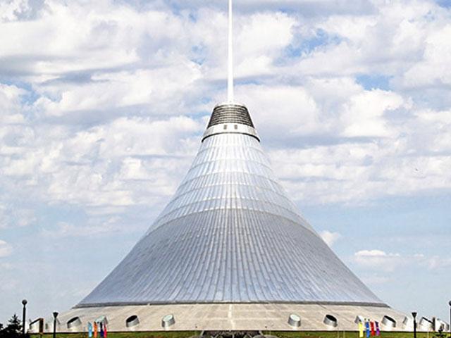Das größte Zelt der Welt: Khan Shatyr