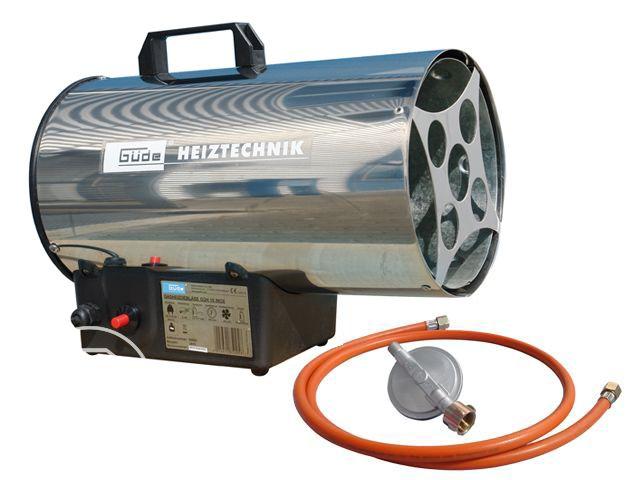 Um Feuchtigkeit im Zelt zu vermindern, kann ein Gasheizer genutzt werden.