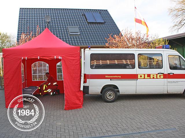 Kundeninterview: Zelt im DLRG-Einsatz