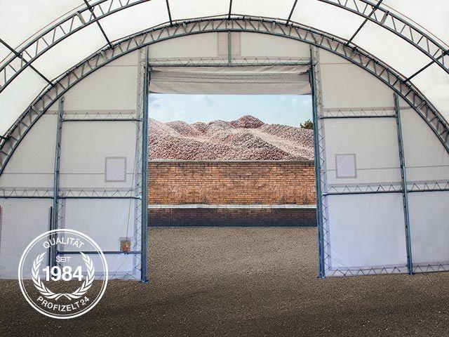 Zelthallen mit fachwerk konstruktion profizelt24 for Statik fachwerk