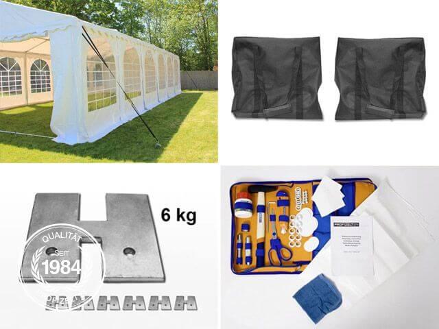 Vielfältiges Zeltzubehör und Ersatzteile