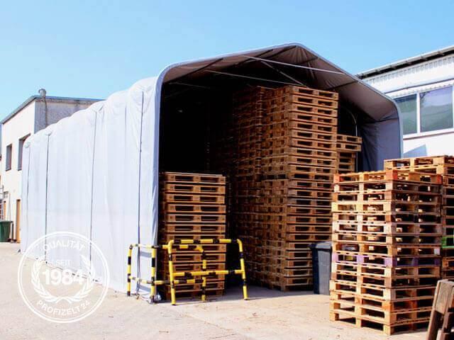Stabile und robuste Zelthallen von Profizelt24