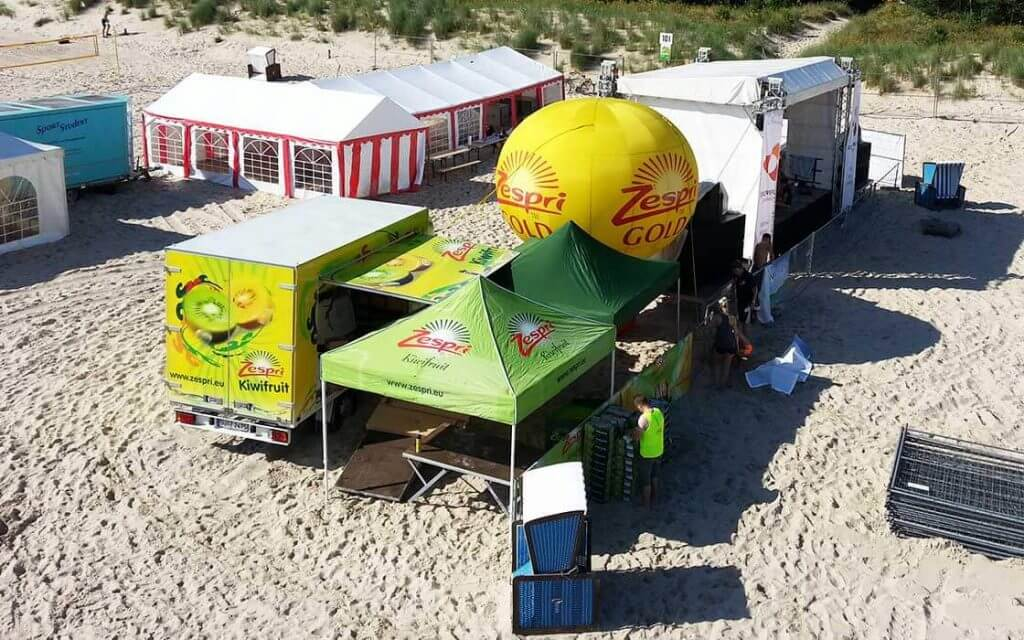Beachcup-Partyzelte-Sportverein