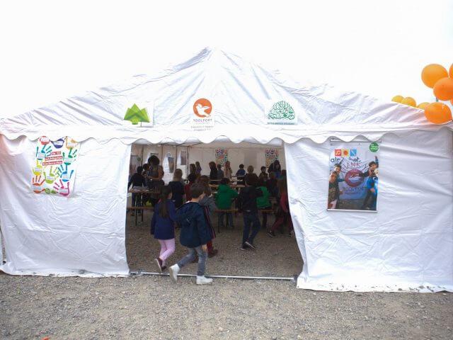 Spendenaktion für Zeltschule e.V. und TOOLPORT Foundation