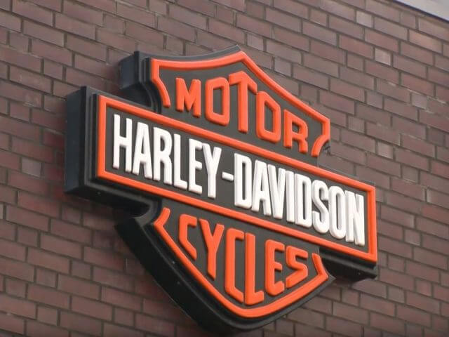 Faltpavillons bei Harley Davidson