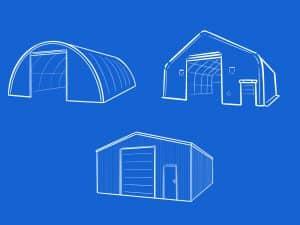 Verschiedene Lagerlösungen in der Landwirtschaft: Zelthallen und massive Hallen