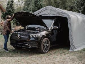 Zeltgarage fürs Auto