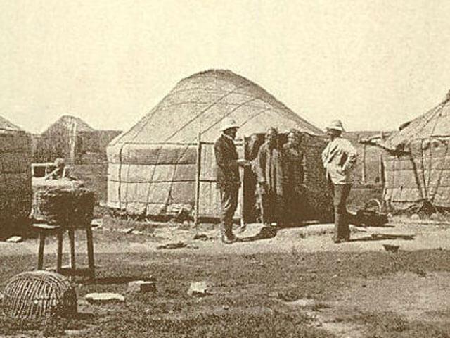 Mongolische-Jurte