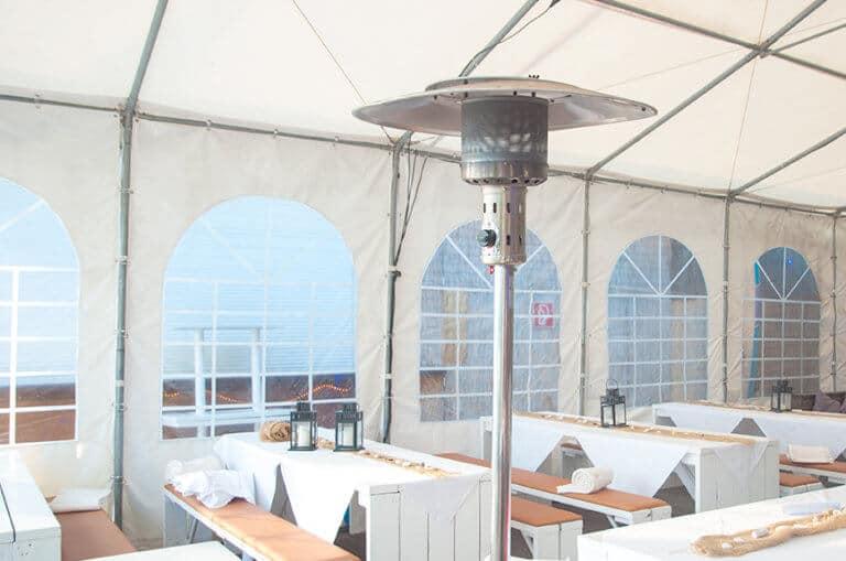 Zelte als Lösung für die Gastronomie während Corona