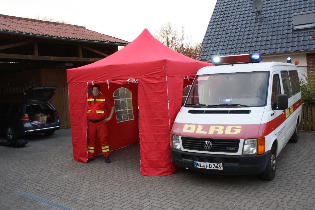Faltpavillons als ideale Notfallzelte