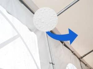 Kondenswasser im Zelt vermeiden - unsere Tipps