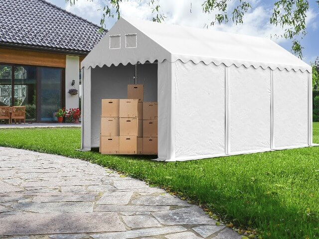 Möbel einlagern - Lagerzelte sind die ideale Lösung!