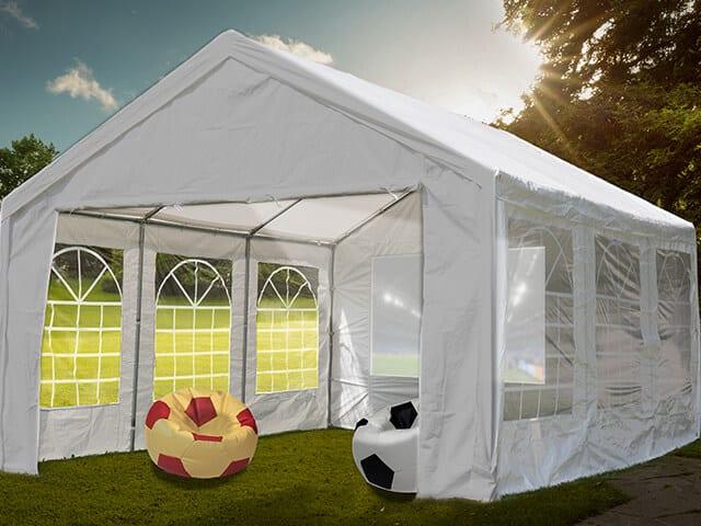 Laden Sie zum EM 2021 Private-Viewing im Garten im Partyzelt ein!
