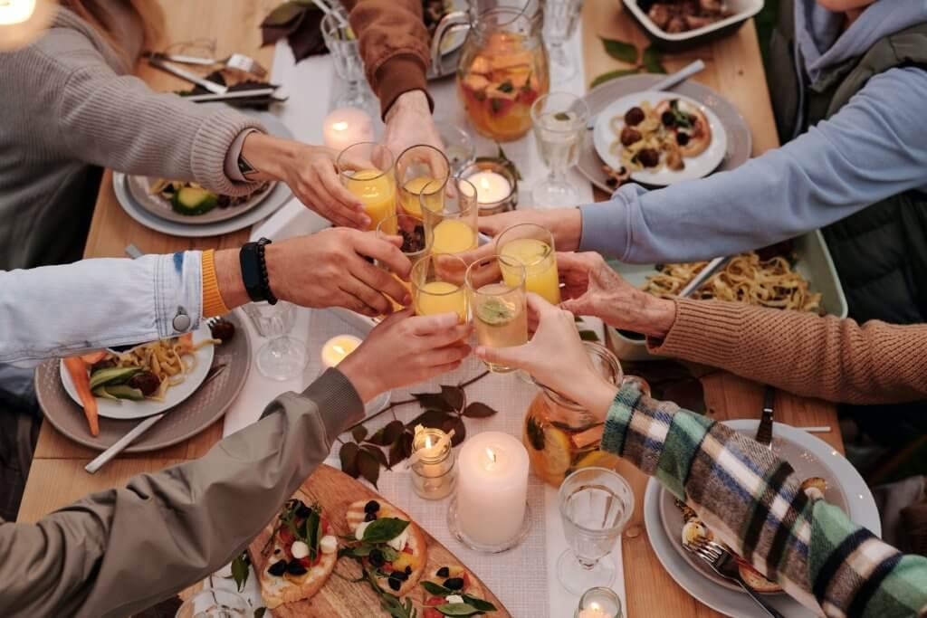 Unverzichtbar auf der Firmenjubiläums-Feier: Essen